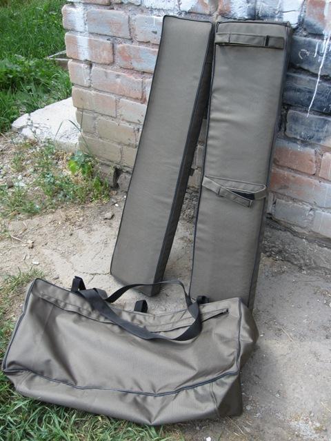 Мягкие накладки на банку и сумка