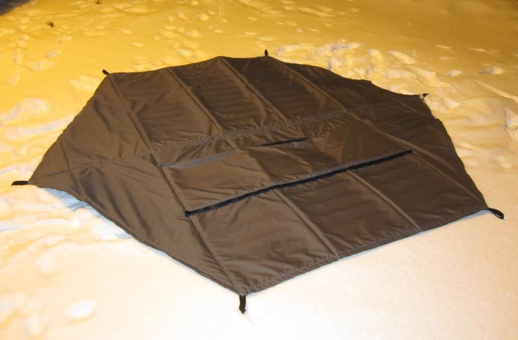 Пол в палатку зонт своими руками