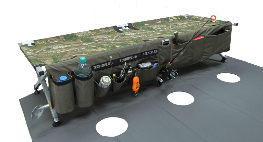 раскладушка для рыбалки терникс